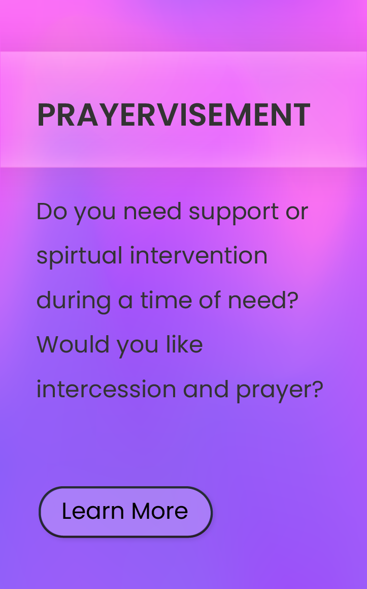 Prayervisement