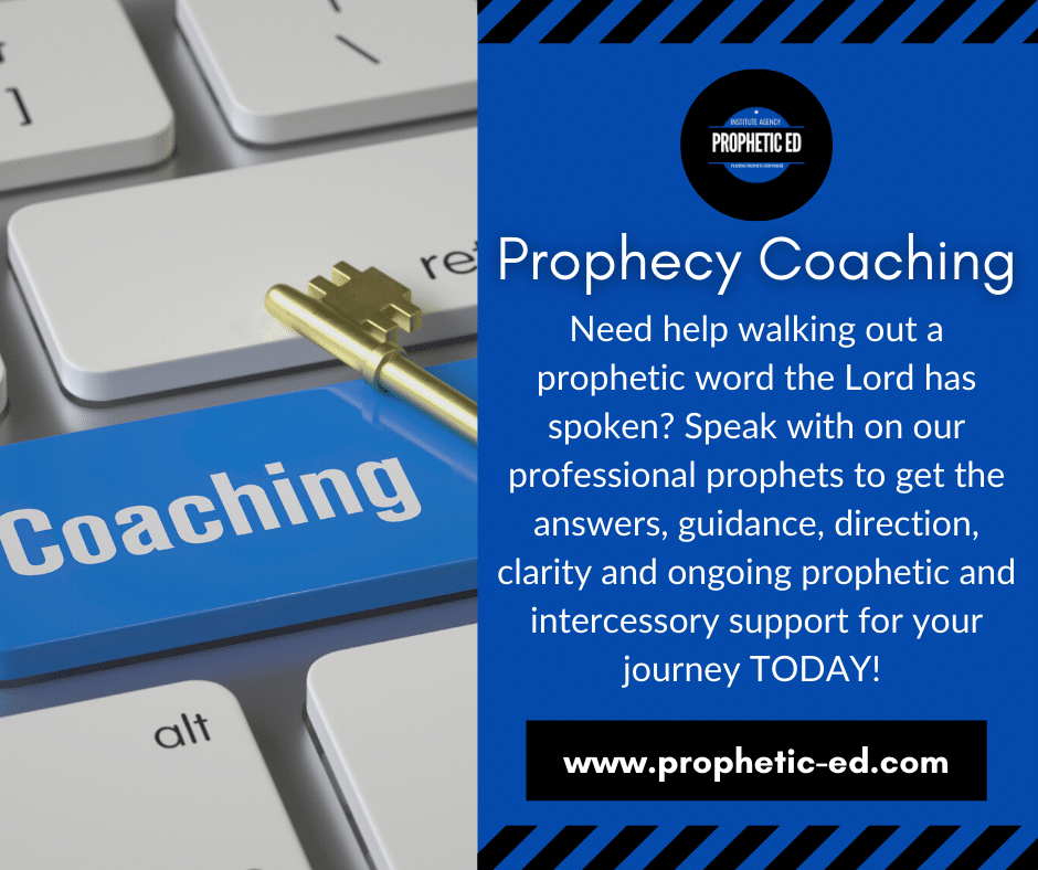 Prophetic Coaching
