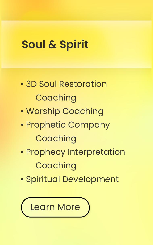 Prophecy Coaching